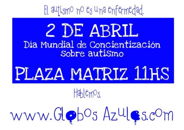 Comunicado: URUGUAY AZUL EL 2 DE ABRIL